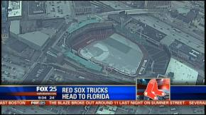 Would You Stand Out In The Cold To Watch A Truck Being Loaded With Your Favorite Team'sEquipment?