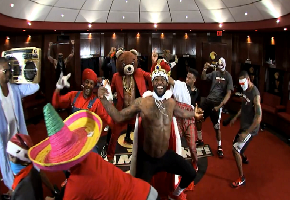 The Miami Heat Joined The Craze And Did The Harlem Shake