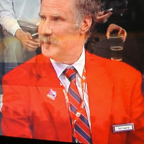 Will Ferrell Is The Red-Coat Security Guard TedVagina