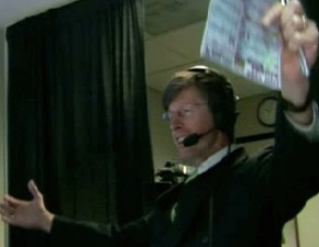 Jack Edwards Jumps And Celebrates Like A Little Girl After Bruins Tie The Game AgainstRangers