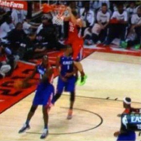 Chris Bosh Takes A Nap On Blake Griffin's Junk