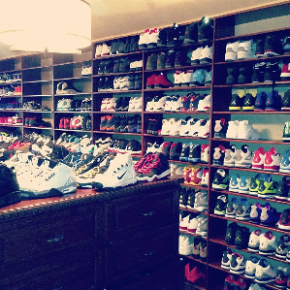 CP3 Owns A Shoe Closet That Would Immediately Turn On Any Sneaker Head