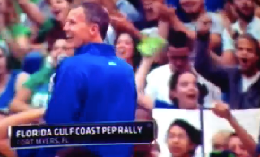 "ESPN Lets Florida Gulf Coast Go Out And Disrespect The Florida Gators By Chanting ""Fuck The Gators"" On Live TV"