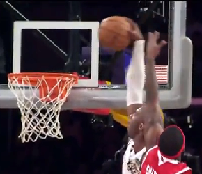 Kobe Put Josh Smith On A Dunk Face Poster