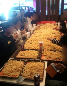 Korean Kids Get Kicked Out Of McDonald's For Ordering $250 Worth Of FrenchFries