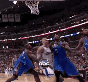 Serge Ibaka Got Himself A Whole Handful Of Blake Griffin