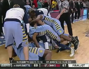 Vander Blue Saved Marquette From A Pretty Embarrassing Loss To St. John's