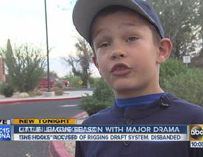 Little League Baseball Team Banned After Being Accused Of Rigging The Draft System