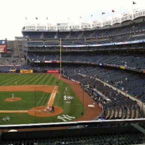 Looks Like A Lot Of Yankees' Fans Were Excited For Opening Day
