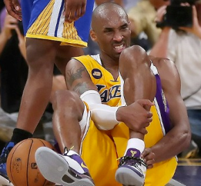 Kobe Bryant Has Suffered A Torn Achilles, Thereby Ending The Lakers' Season