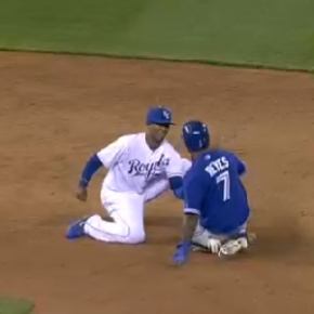 José Reyes Ankle Goes Snap, Crackle And Pop After Awkward Slide Into Second Base